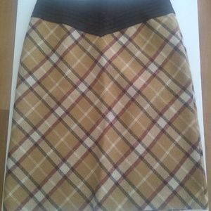BCBGMAXAZRIA Plaid Skirt Size 4